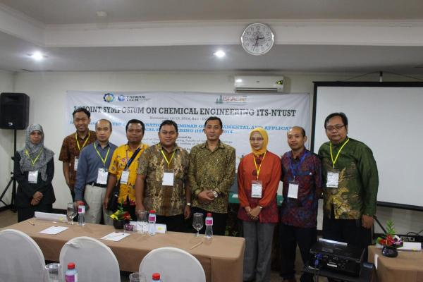 Acara Join Symposium ITS-NTUST