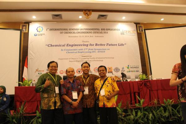 Bersama Dosen Teknik Kimia ITS